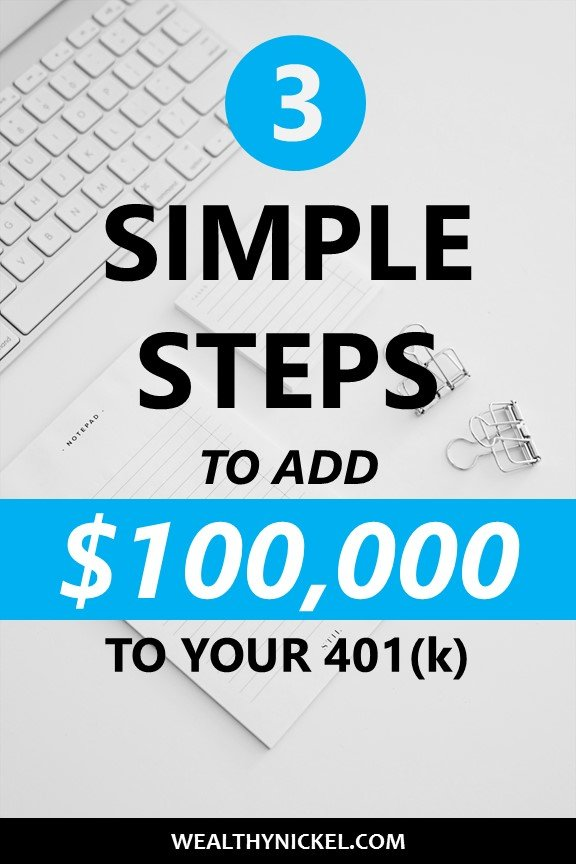 These simple mistakes can cost you $100,000+ in retirement. See how you can easily increase your retirement nest egg with a few simple tweaks. This article could help you retire years earlier than planned! #retirement #investing #savemoney #financialfreedom #personalfinance