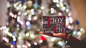 4 gift rule at Christmas