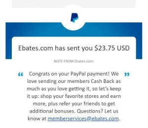 get paid with rakuten through paypal