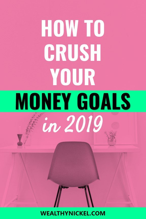 Did you know there's one simple thing you can do to increase your chances of achieving your money goal by 42%? Start your 2019 money goals right and get on the path to financial freedom! #moneygoals #financialfreedom #financialplanning #2019goals