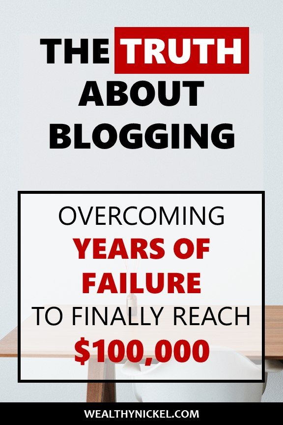 Blogging for money is a great way to earn a living, but full time blogging is also hard work especially as a beginner. Learn how Jeff took his blog from $0 to a six figure income, and why he's succeeded when so many others have failed. #makemoneyblogging #bloggingforbeginners #blogincome #howtoblog
