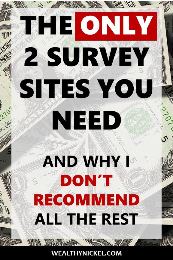 Taking online surveys for money is a legitimate way to make extra cash, but which paid survey sites are the best? I argue that these 2 survey sites are the absolute best of the best to make money online, from home, in your pajamas :) #onlinesurveys #makemoneyonline #paidsurveys #workfromhome #extramoney