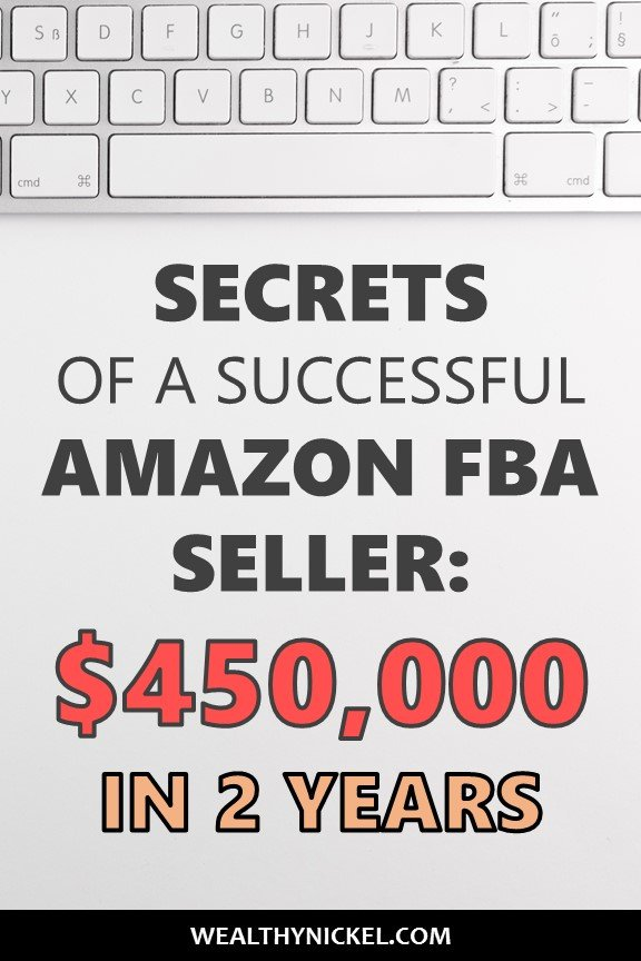 Find out step by step how to start an Amazon FBA business! Our guest, Marc, shares his secrets on how to make money online with Amazon FBA, and how he made an extra $450k in 2 years with this side hustle! #makemoneyonline #sidehustles #amazonfba #workfromhome