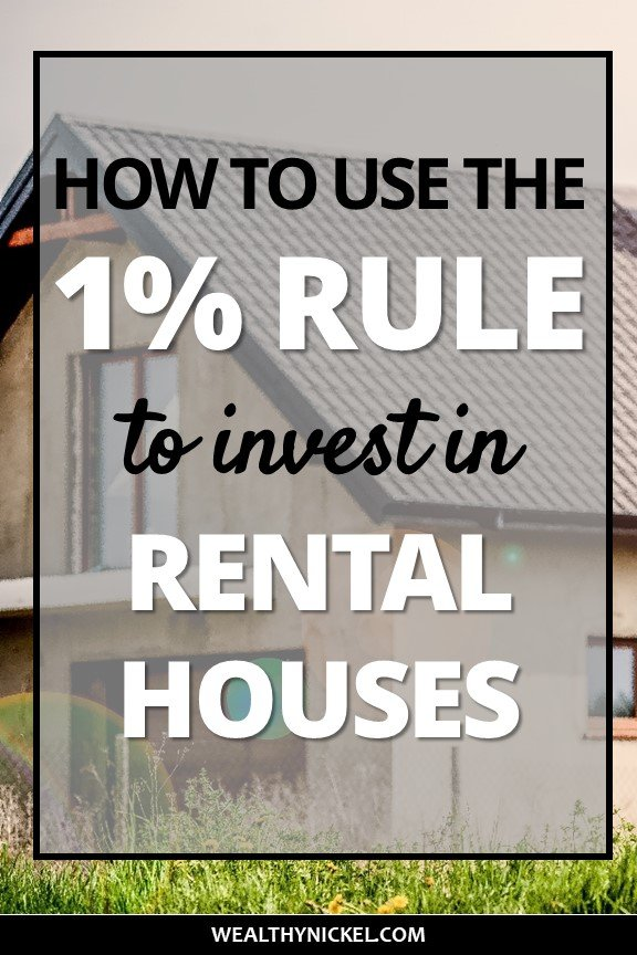 how to use the 1% rule real estate math