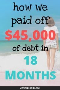 debt payoff success story