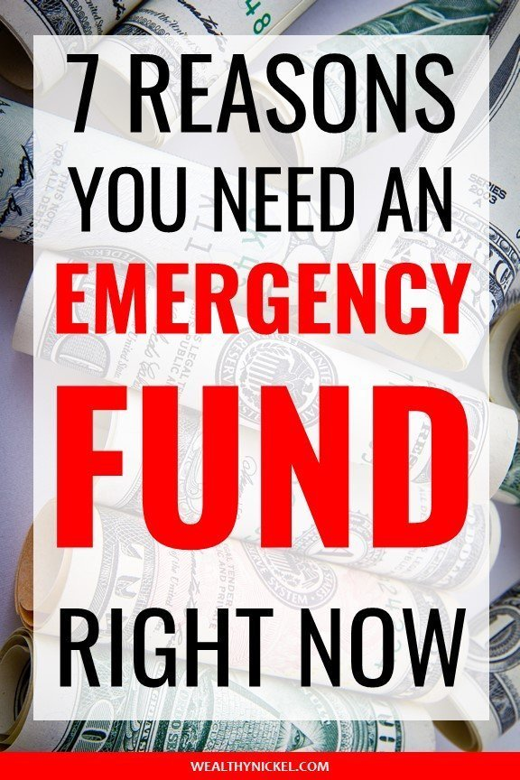 7 emergency fund examples