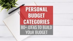 personal budget categories list feature image