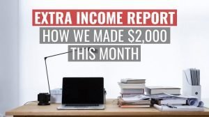 side hustle income report feature image