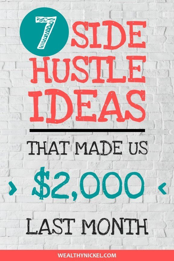 side hustle ideas and income report