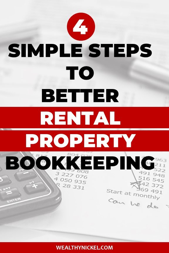 4 simple steps to better rental property bookkeeping