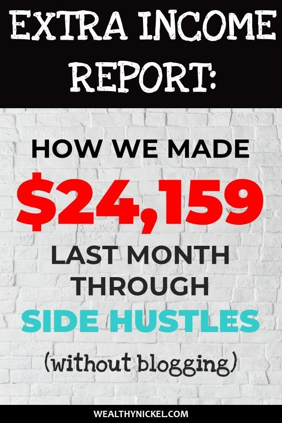 extra income through side hustles