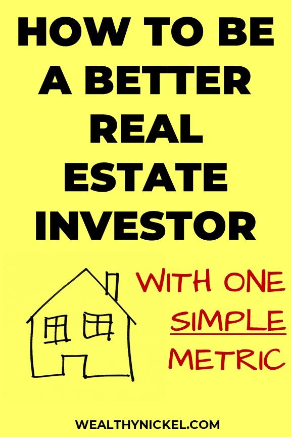 return on equity real estate metric