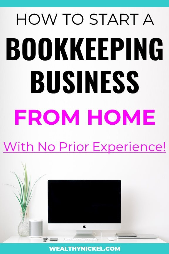 start a virtual bookkeeping business from home