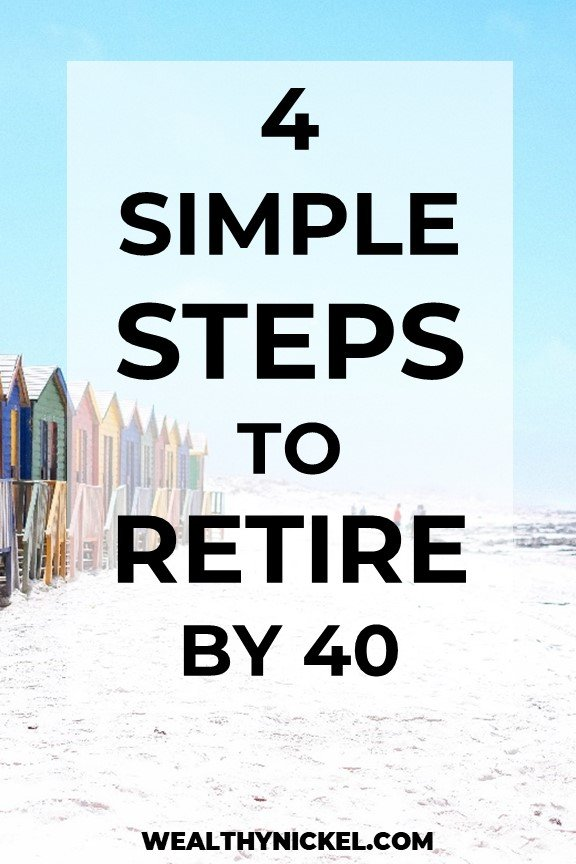 how to retire early and retire by 40