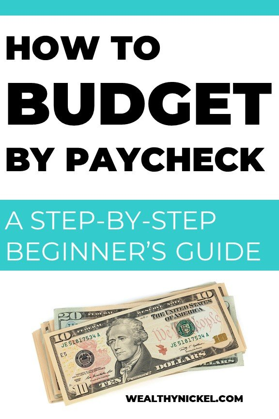 budget by paycheck for beginners