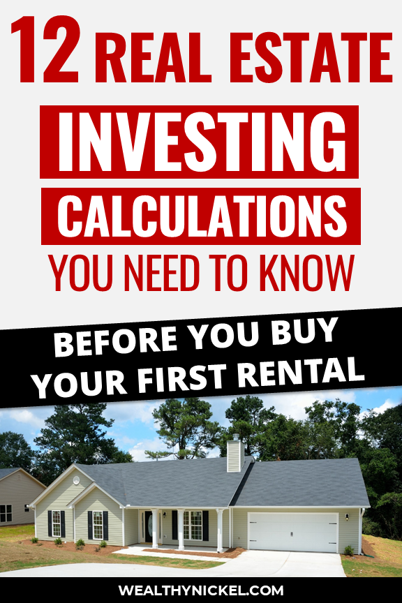 real estate investing calculations you need to know